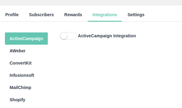 ActiveCampaign integration setup – EarlyParrot Support